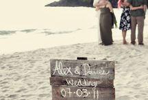 Wedding Signs / Beautiful wedding signs
