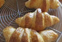 Croissant e sfogliature