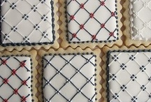 Iced biscuits - patterns