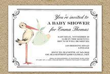 stork baby shower ideas