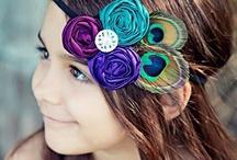 Tocados Decorativos / Tocados  decorativos para el cabello. / by Fina Moreno