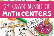 Second Grade Math Lessons / Math lessons for second grade elementary teachers. Guided math resources, fact fluency, math interventions, test prep, and games that help build confidence.