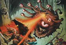 RPG - Monsters / Fantasy monsters: golem, undeads, dragons, aberrations...