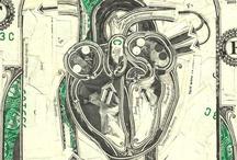 Corações, uma coleção de imagens.