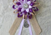 Petal Perceptions / Personalized baby shower corsages, keepsake wedding jewelry, wrist corsages, mens lapel flowers, bridesmaid earrings and accessories.