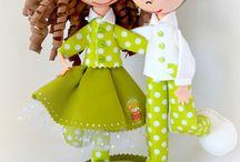 """волшебный фоамиран / из современного материала """"фоамиран"""" можно делать замечательные куклы -сувениры и не только..."""