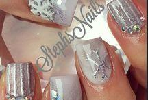 nail designs winter