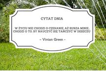 Kosiarkowe mądrości / Myśli i cytaty na ogrodowe tematy :)