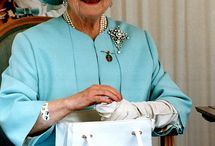 Queen Elizabeth, the Queen Mother / British Royals