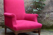 Tapissier d'ameublement / Donnez une nouvelle jeunesse à votre #fauteuil en le relookant! Faites appelle à un #tapissier #d'ameublement pour #rénover votre fauteuil.