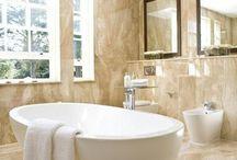 Bubbly bathroom