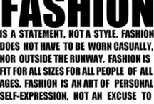 Wise Fashion Words