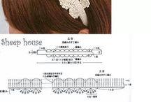 髪止め 編み方