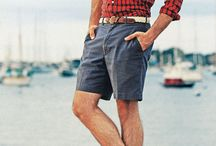 fashion: boys: Dress rabbit / Red button down with shorts and boat shoes / by Jeannette Arrowood