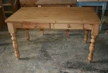 Tables! / A beautiful range of pine farmhouse tables.