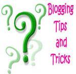 Blogging tips & help