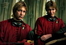 I would do sins to the Weasley twins