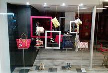 EVA every where visual anywhere / Trabalhos realizados em Visual Merchandising e Vitrinismo