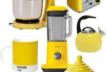 Yellow kitchen gadgets