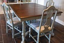 Refinishing my Table and Chairs / by Amanda Joseph