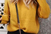 Giallo senape ispirazione/Mustard yellow inspiration