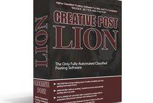 Creative Post LION