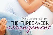 The Three-Week Arrangement (Chase Brothers) (Entangled Lovestruck) / Book three of the Chase Brothers series from Entangled Lovestruck