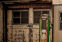 Old Gas Stations abandon and upcycled