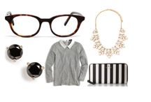 Stylin' / Fashion we love, especially when glasses are involved.
