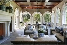 Extravagant Back Porches