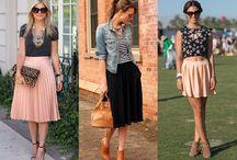 Moda / Moda feminina, vestidos, sapatos, estilo casual, estilo das ruas