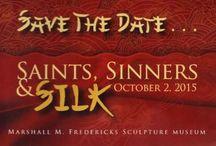 Saints, Sinners & Silk / by SVSU University Art Gallery