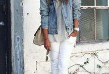 Jeansjacke Kombinationen