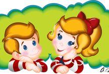 {Lollipops, Gumdrops, and Pixie Sticks}  / Candyland Inspired Birthday Inspiration / by Elizabeth Kay Design {EK Printables}