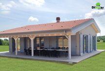 Wood house VERONA / Casa realizata in structura de lemn  in Italia  de  catre  SC DIMMER SRL