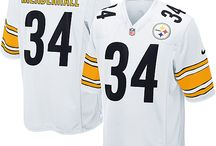 Steelers Rashard Mendenhall Black Authentic Jersey For Women's & Youth & Men's All Size