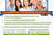 Green World Group - Kerala / Green world group's 2014 value added offer for Nebosh IGC training in Cochin with reasonable price. For more details: 8606091846. http://blog.greenwgroup.com/nebosh-igc-offer-cochin.html