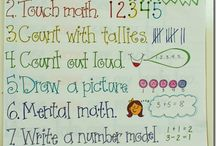 classroom math / by Michelle