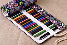 Pencil cases (fabric)