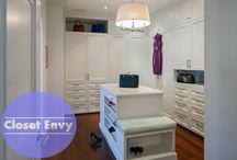 Closet Envy / Got a little closet envy? If you don't, you will soon after looking at these fantastic closet spaces. You'll discover unique space-saving closet ideas, functional layouts, fun design, or just sheer glamorous closets
