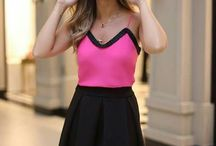Pink and Black 1