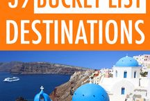 The Bucket List / Here you can find the list of the country's bucket list, dream destination and place of wander!