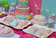 Lilly Pulitzer Birthday Party