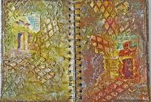 My Mixed Media / Various mixed media art pieces - art journals, canvas, odd stuff and more!!