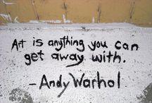 Andy Warhol / by Marilynn Conforzi