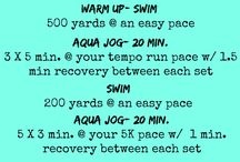 Aqua Jogging / by Natalie Eichenberg Cybyk