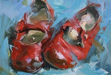 SHOES IN ART