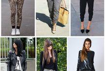 Calça jogger / Mais sobre calça jogar no blog @acessoglam http://acessoglam.com/moda-calca-jogger/  http://www.acessoglam.com