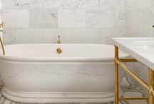 Bathrooms / by Sharon [share-RUN] Taylor of Pickwick House