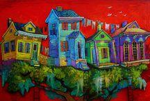Dwelling in Art / by Martha Petersen